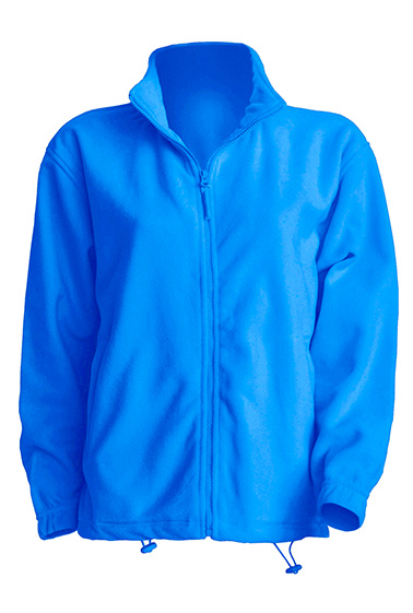 Polar Fleece Man Aqua