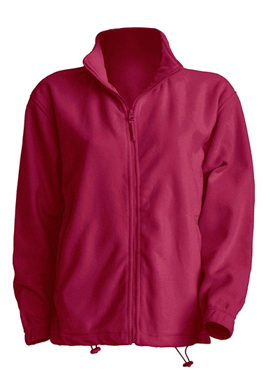 Polar Fleece Man Burgundy