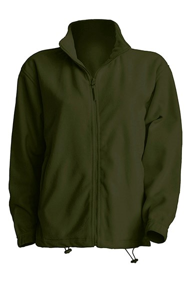 Polar Fleece Man Forest Green
