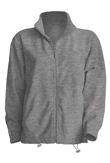 Polar Fleece Man Grey Melange