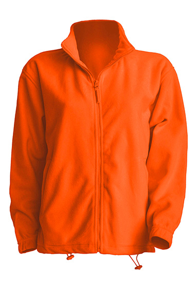 Polar Fleece Man Orange