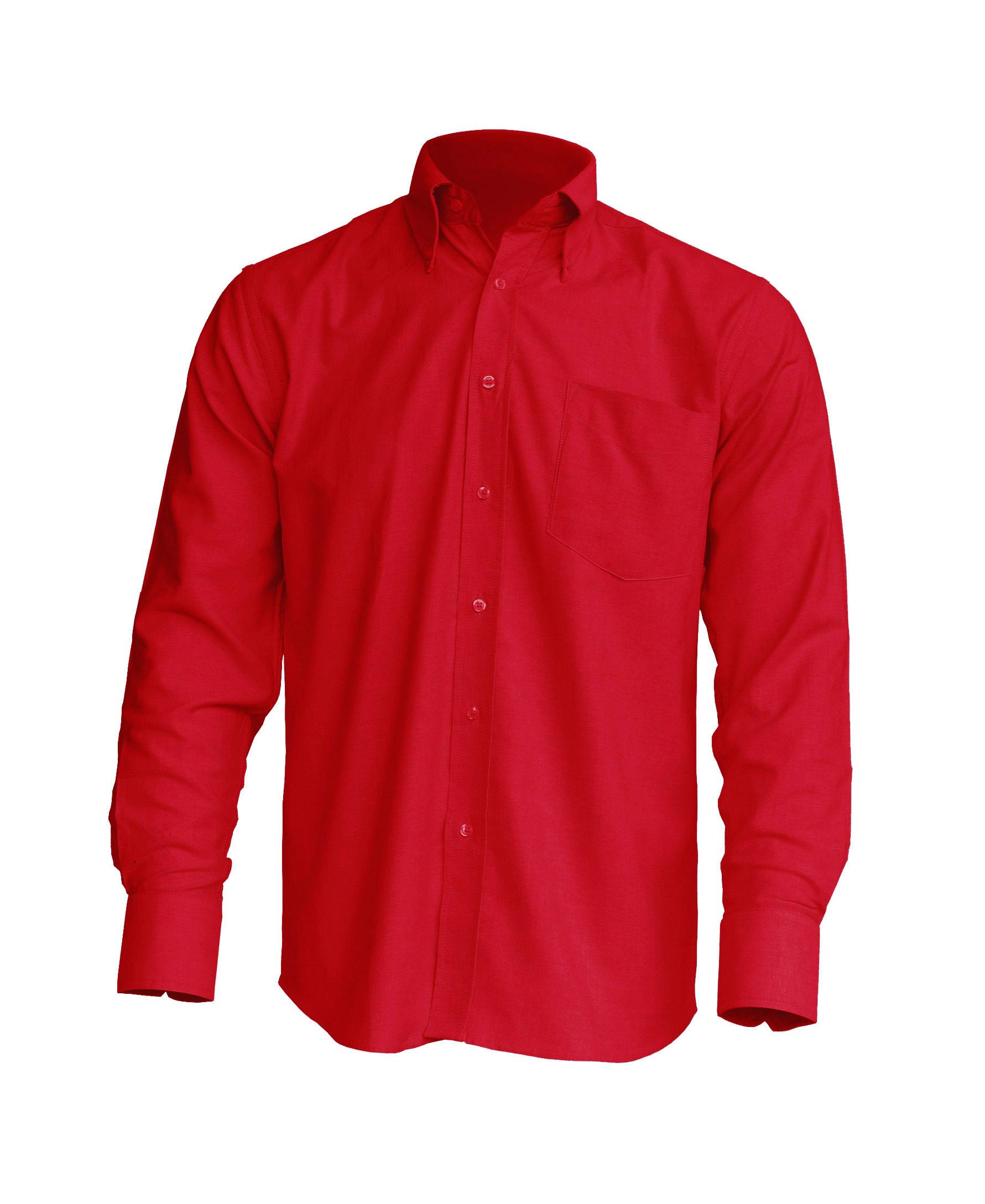 Shirt Poplin Red