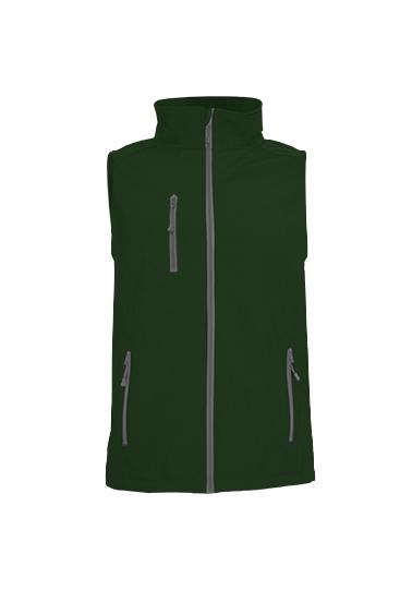 Softshell Vest Bottle Green