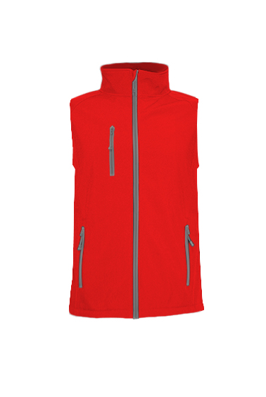 Softshell Vest Red
