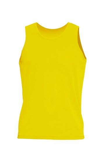 Sport T-shirt Aruba Man Gold Fluor