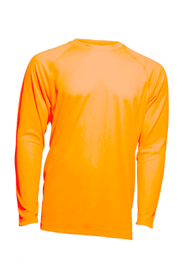 Sport T-Shirt Man LS Orange Fluor