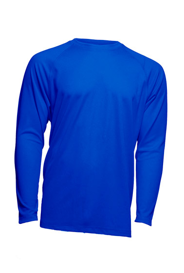 Sport T-Shirt Man LS Royal Blue