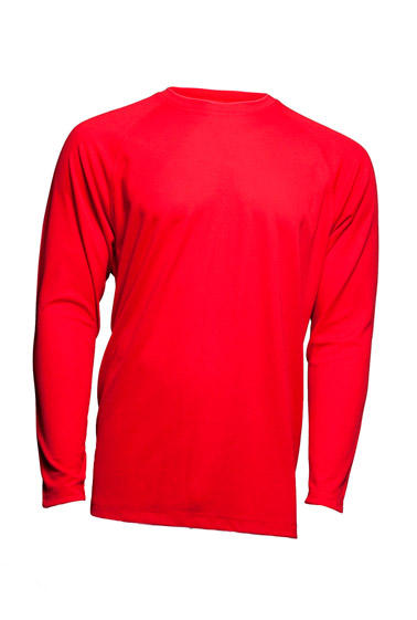 Sport T-Shirt Man LS Red