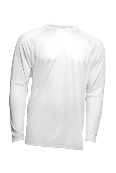 Sport T-Shirt Man LS White