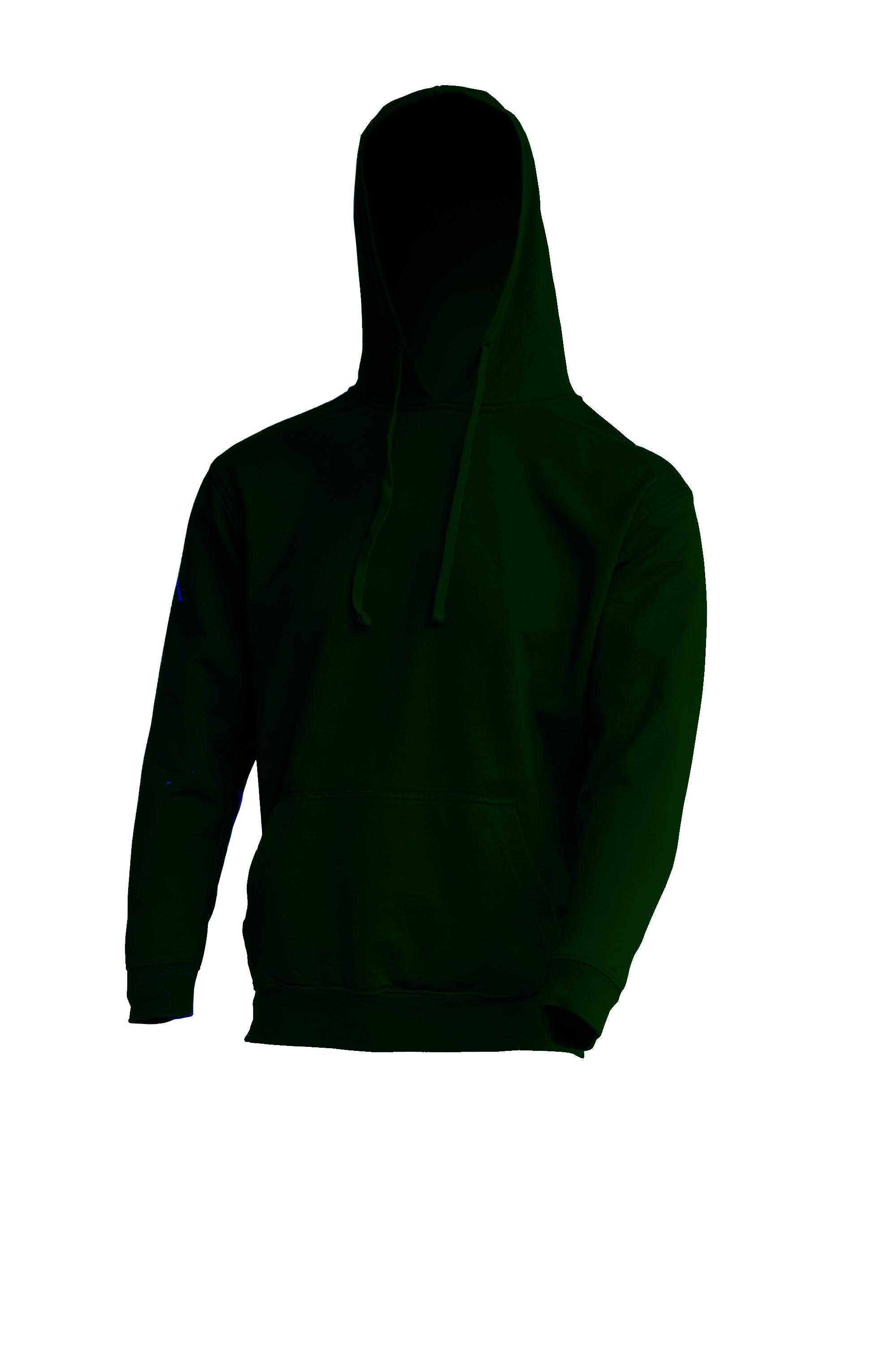 Kangaroo Sweatshirt Bottle Green