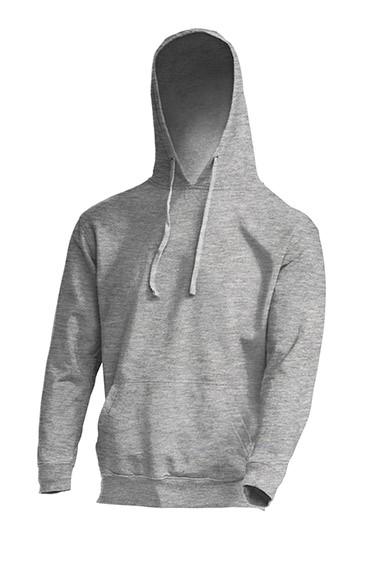 Kangaroo Sweatshirt Grey Melange