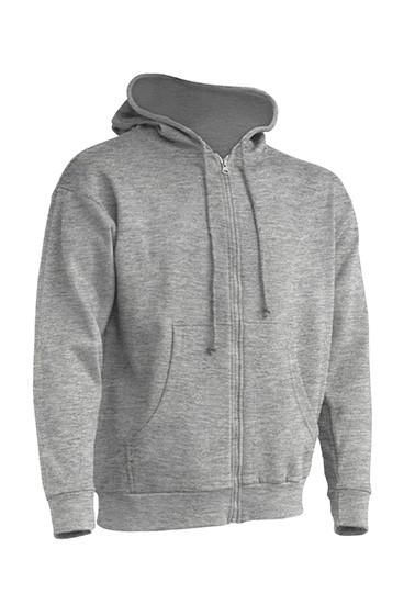 Hooded Sweatshirt Unisex Grey Melange