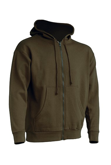 Hooded Sweatshirt Unisex Khaki