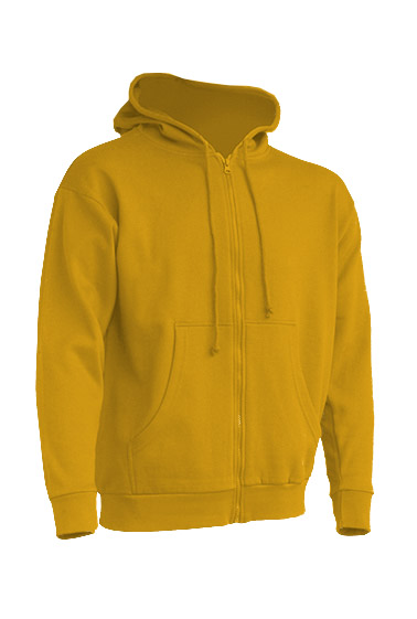 Hooded Sweatshirt Unisex Mustard