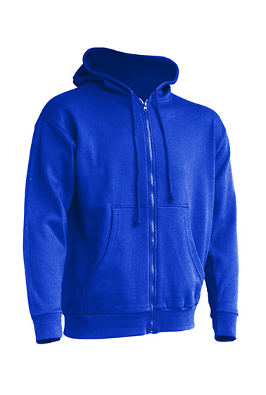 Hooded Sweatshirt Unisex Royal Blue