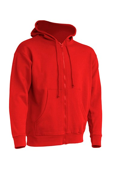 Hooded Sweatshirt Unisex Red