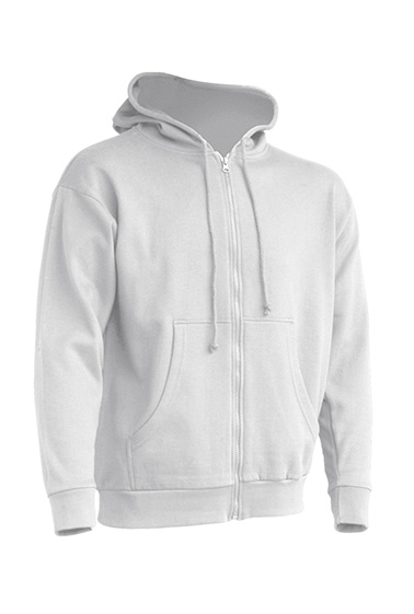 Hooded Sweatshirt Unisex White