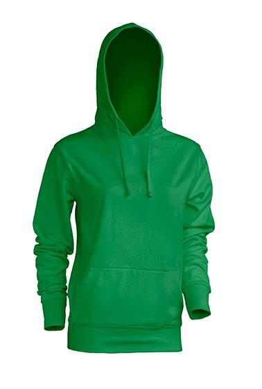 Kangaroo Sweatshirt Lady Kelly Green