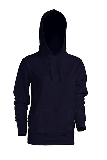 Kangaroo Sweatshirt Lady Navy