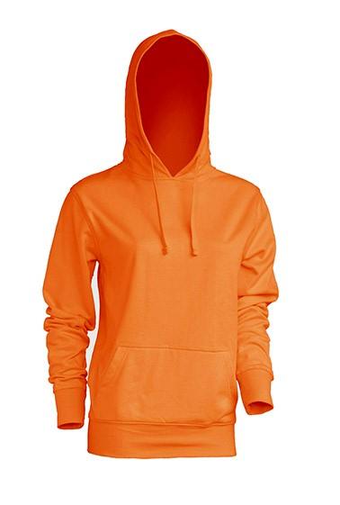 Kangaroo Sweatshirt Lady Orange