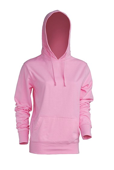 Kangaroo Sweatshirt Lady Pink