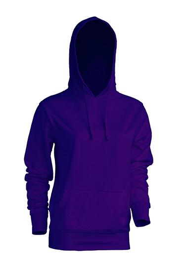 Kangaroo Sweatshirt Lady Purple