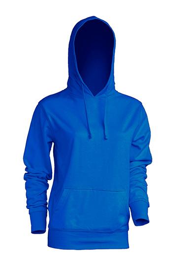 Kangaroo Sweatshirt Lady Royal Blue