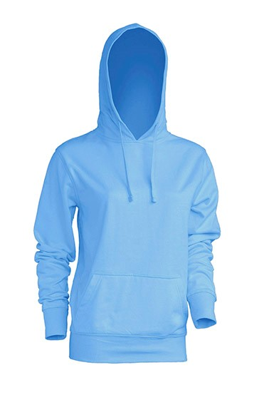 Kangaroo Sweatshirt Lady Sky Blue