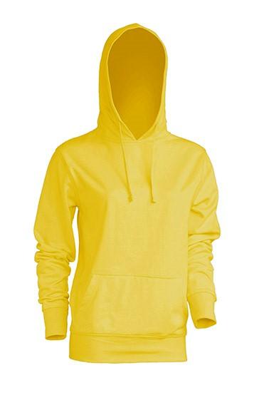 Kangaroo Sweatshirt Lady Gold