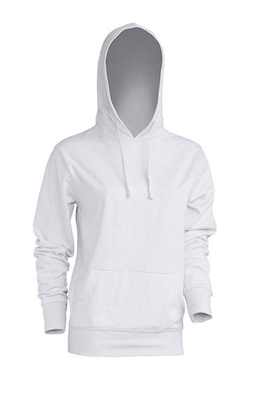 Kangaroo Sweatshirt Lady White