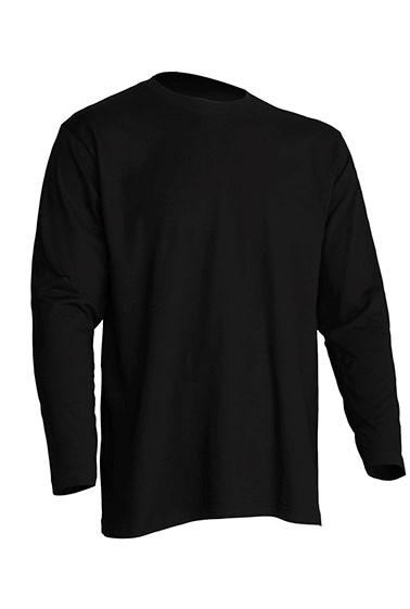 Regular T-Shirt LS Black