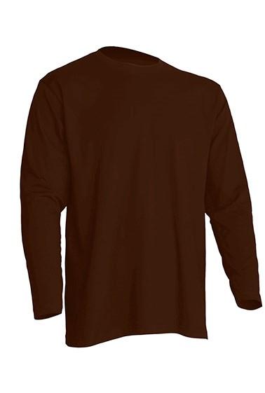 Regular T-Shirt LS Chocolate