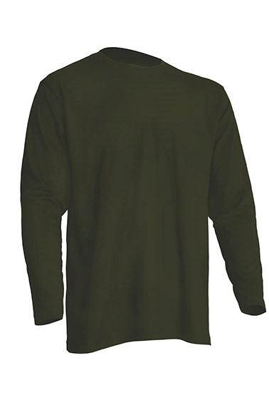 Regular T-Shirt LS Khaki