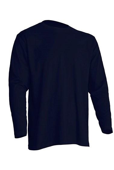 Regular T-Shirt LS Navy