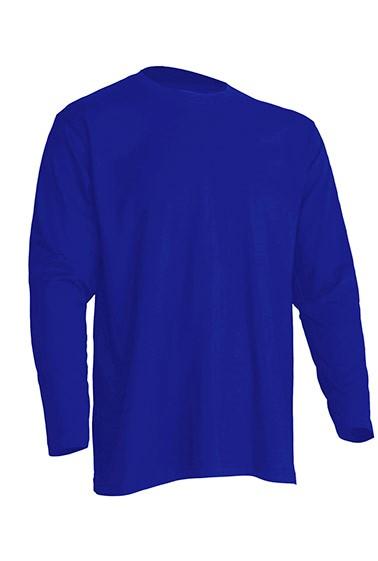 Regular T-Shirt LS Royal Blue