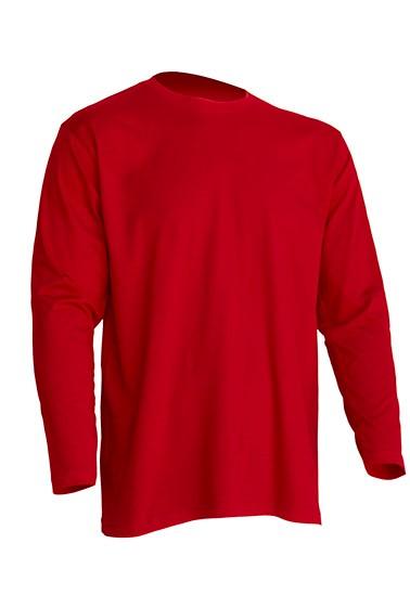 Regular T-Shirt LS Red