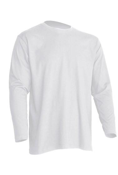 Regular T-Shirt LS White