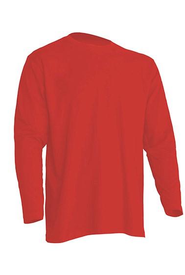 Regular T-Shirt LS Warm Red