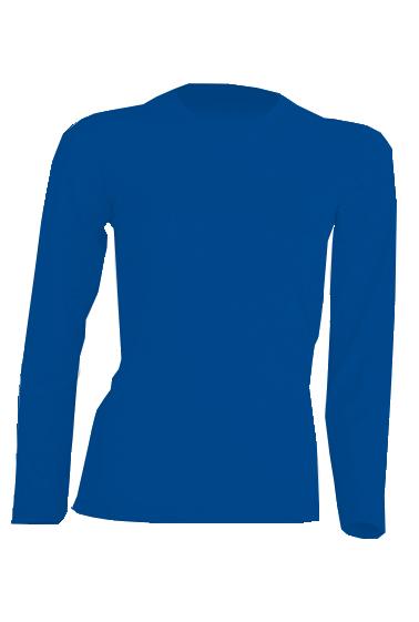 Regular Lady LS Royal Blue
