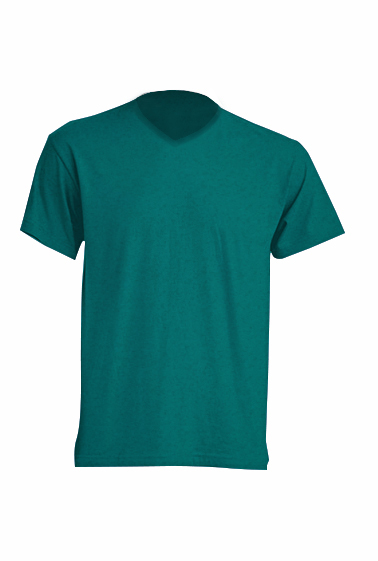 Urban V-neck Bottle Green Heather