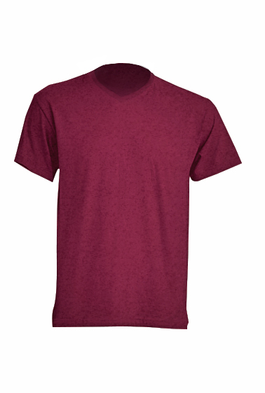 Urban V-neck Burgundy Heather