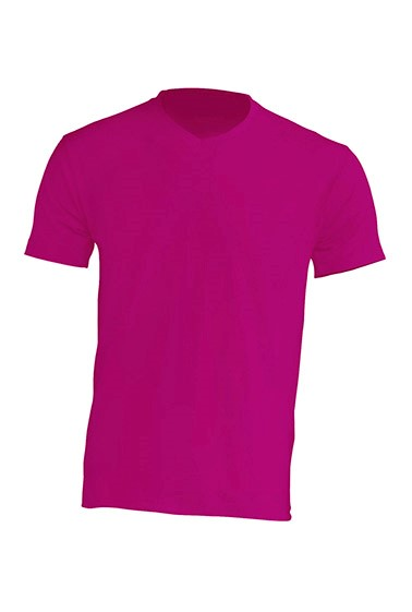 Urban V-neck Fucsia