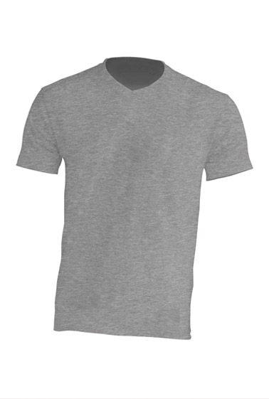 Urban V-neck Grey Melange