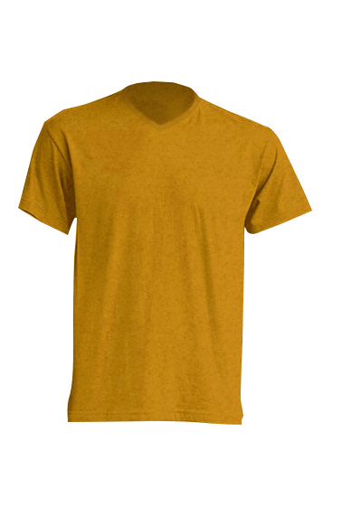Urban V-neck Mustard Heather